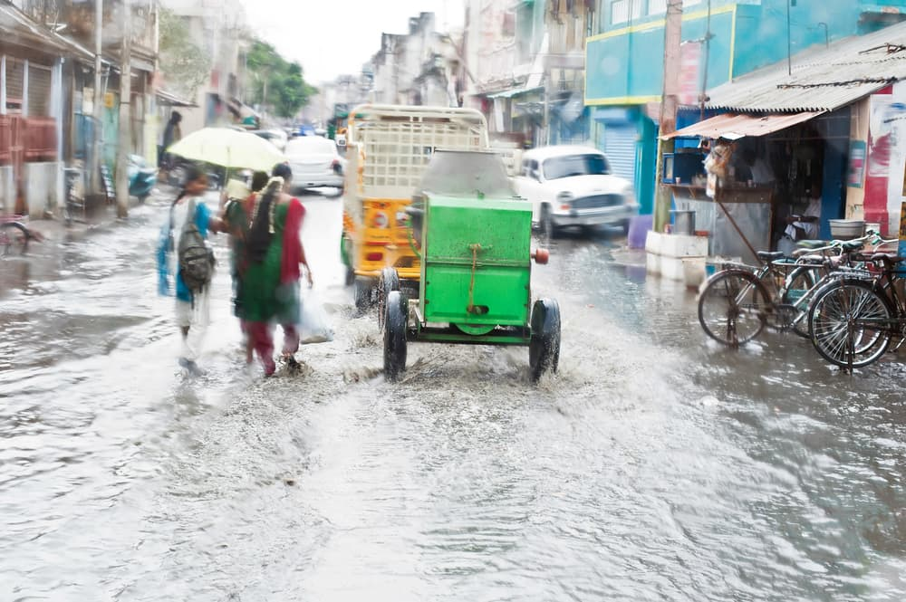 mousson en inde
